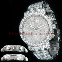 2310fc87244 Unique Custom Diamond Benny Co Watch Mens 25ct