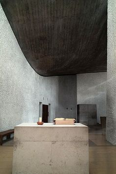 Le Corbusier. Chapel of N