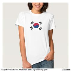 Flag of South Korea Women's Basic T-Shirt