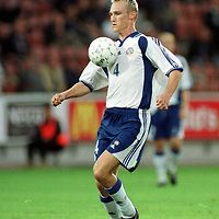 16.08.2000 Finnair Stadium, Helsinki, Finland. Friendly match Finland v Norway. Sami Hyypi? (FIN)..©JUHA TAMMINEN