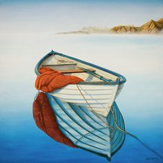 """Calm Waters"" Painting - oil on canvas by Horacio Cardozo."