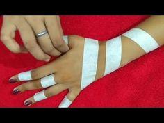 Beautiful mehndi design with the help of paper tape – Henna Tattoos Mehendi Mehndi Design Ideas and Tips Tribal Henna Designs, Basic Mehndi Designs, Arabic Henna Designs, Mehndi Designs For Beginners, Mehndi Designs For Fingers, Dulhan Mehndi Designs, Henna Tattoo Designs, Mehndi Designs For Hands, Henna Designs On Paper