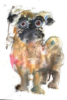 Household Guardian http://ift.tt/2hPr45z Art watercolor acrylic doodle art painting artistsoftumblr watercolor