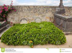 Ο τάφος του Vincent Βαν Γκογκ στη Γαλλία Εκδοτική Στοκ Εικόνα - εικόνα από πράσινος, λουλούδια: 93605804