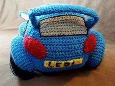 Crochet Racing Car Pattern. Free pattern.