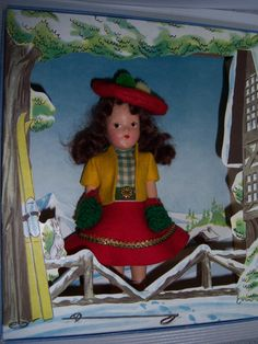 Sun Valley Confetti Co1940s  Doll by SylviasFinds on Etsy, $25.00