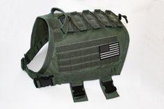 ForceK9.com - Introduces TACVest! Tactical Sport K9 Vest with Multi-use Adjustable Mission Platform.