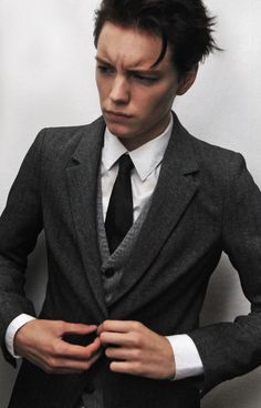 Kipper Clothiers finds inspirational looks in Erika Linder's androgynous modeling. We maintain an open-minded, fashion-conscious cult...