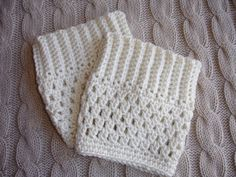 Hi everyone and welcome to my shop. This listing is for the boot cuffs pictured in ivory. They measure about 6 inches in width and 6 inches in