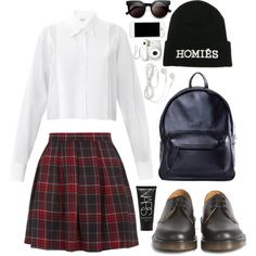 """27. back to school"" by vxqu3 on Polyvore"