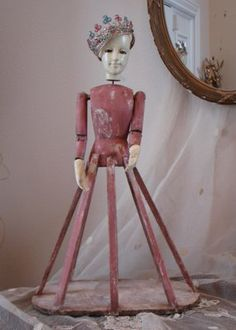 Antique Santos Cage Dolls