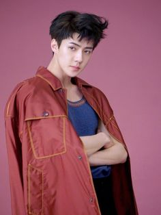 sehun L'Optimum Thailand, sehun photoshoot 2017, sehun fashion 2017, sehun airport 2017, sehun height, sehun magazine march issue, sehun L'Optimum Thailand march 2017