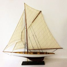 Columbia Model Boat, $125, now featured on Fab.