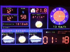 Construye una estación meteorológica con Arduino ##arduino #diy