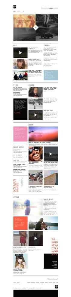 Web | Insight Concept on Behance
