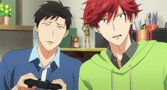 gekkan shoujo nozaki kun mikorin gif (yes! I love this episode. Such a beautiful bromance)