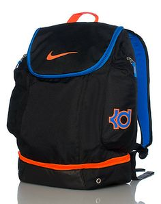 08317cb78fc NIKE Kevin Durant backpack Adjustable padded straps for ultimate comfort  Signature NIKE swoosh on top zipper