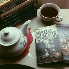 agatha christie mystery and tea