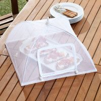 Collapsible food tent keeps bugs out of your buffet food and saves space when storing. Tent covers a large x space. Food Tent, Space Saving, Table, Windows, Kitchen, Home Decor, Cooking, Decoration Home, Room Decor