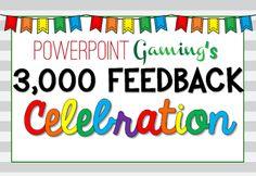 TeachingIdeas4U by Amy Mezni: Powerpoint Gaming's Celebration
