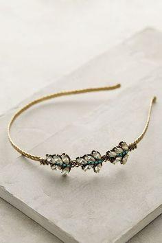 Baroque Leaf Headband - anthropologie.eu