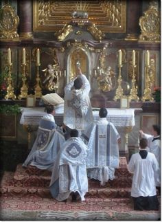 Extraordinary form of the latin rite Mass. I want to attend at least once in my life!