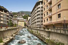 Street in Escaldes, Andorra
