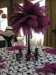 1000 Images About Ostrich Feather Centerpieces On