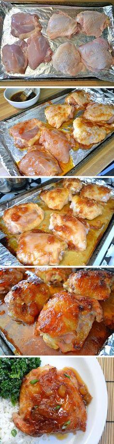 Pineapple Teriyaki Chicken Thighs