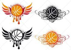 Buy Basketball With Wings by amourfou on GraphicRiver. Basketball with wing and ornament, vector AI EPS 8 and high resolution JPG pixel included. Basketball Scoreboard, Basketball Art, Basketball Pictures, Basketball Drawings, Basketball Tattoos, Basketball Compression Pants, Basketball Background, Chic Tattoo, Flame Tattoos