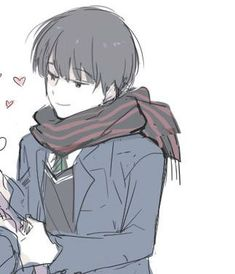 nam x nữ Anime Couples Drawings, Couple Drawings, Cute Anime Couples, Tof De Profil, Creepy, Cute Couple Wallpaper, Matching Profile Pictures, Anime Love Couple, Avatar Couple