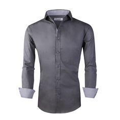 d1eb1cabb64 14 Best Alex Vando Long Sleeve Cotton Stretch Men's Dress Shirts ...