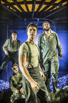 #Urinetown The Musical at #London's St. James Theatre. Photo: Johan Persson ♡ www.LOVEtheatre.com/tickets/3587/URINETOWN-The-Musical?sid=PIN