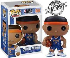 NBA di New York Knicks kristaps porzingis Pop Figura in vinile da Collezione Unisex