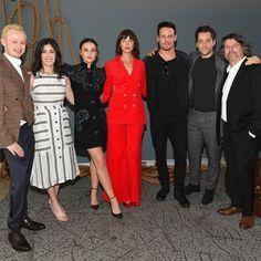Awww 😍😍😍 Credit to Outlander Casting, Outlander Series, Tartan, Duncan Lacroix, Laura Donnelly, Sam And Cait, Sam Hueghan, Outlander Season 4, Richard Rankin