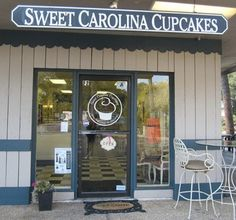 Our lil Cupcake shop. It all started here,  Sweet Carolina Cupcakes