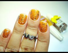 Mostarda Atômica (Colorama) + Orange Sunset (EDK) #Desafio14cores14marcas :: Amarelo