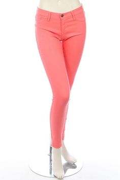 LOVELY PASTEL COLORED SKINNY JEANS