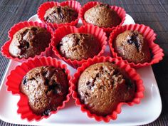 Chocolate muffins for Valentines! :-)