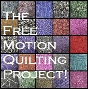 This is the absolutely best site on the web for learning how to free motion quilt. She provides over 365 unique designs as she created a new pattern every day for a year. Each patter comes with a short You Tube video.