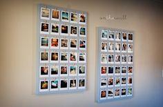 Polaroid Photo Board