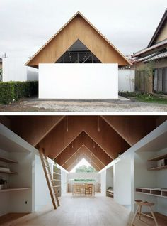 All Time Best Useful Tips: Wavy Roofing Architecture roofing architecture new york.Roofing Texture Drawing shed roofing man cave. Roof Design, Exterior Design, Interior And Exterior, House Design, Wood Architecture, Japanese Architecture, Modern Roofing, Gable Roof, House Roof