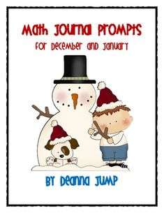 These prompts are great for little mathematicians in Kindergarten and first grade. The prompts cover a wide variety of skills. The skills covered are:  number sense, number writing,  fair shares, patterning,shapes,  ten frames, addition, subtraction and some questions that require higher level thinking.  *** I included extra prompts for those who don't use Christmas themes such as Santa, reindeer, etc; This packet is for everyone.  :) visit my blog for lots of teaching ideas and downloads.