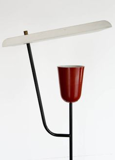 Rare Mathieu Mategot Standing Lamp   From a unique collection of antique and modern floor lamps at http://www.1stdibs.com/furniture/lighting/floor-lamps/