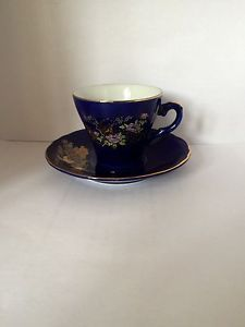 Vintage Japanese Porcelain Espresso/Coffee Cup And Saucer   eBay
