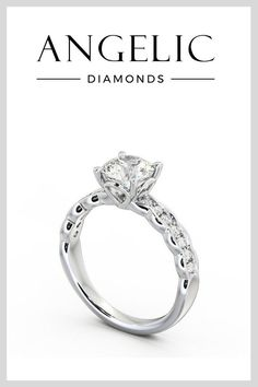 Love vintage engagement rings? Then you'll fall head over heels for this antique engagement ring.