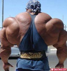 body building extreme...yuck...daudi mpali