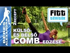 Béres Alexandra torna || Belső és külső combizom gyakorlatok || 10 perc - YouTube Wellness Fitness, Health Fitness, Zumba, Pilates, Workout, Youtube, Sports, Diet Tips, Exercise