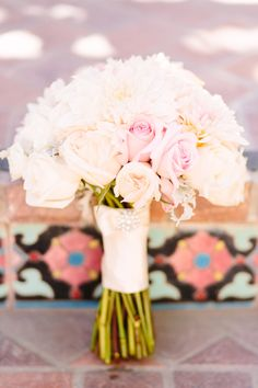 Dreamy bouquet | Photography: Brian Leahy Photography - brianleahyphoto.com  Read More: http://www.stylemepretty.com/little-black-book-blog/2014/05/01/heartfelt-wish-upon-a-wedding-vow-renewal/