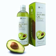 Pure Avocado Oil 16oz. Food grade100% Natural, Food Grade, and Non-GMO Verified. UV Resistant BPA free bottle - 100% Satisfaction Guarantee by Sports Research -- Awesome products selected by Anna Churchill